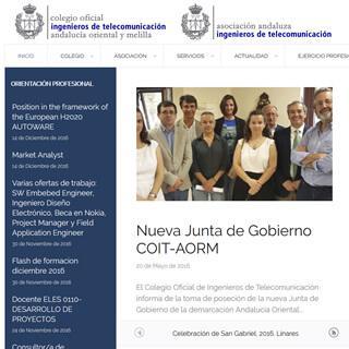 Colegio de Ingenieros de Telecomunicación AORM